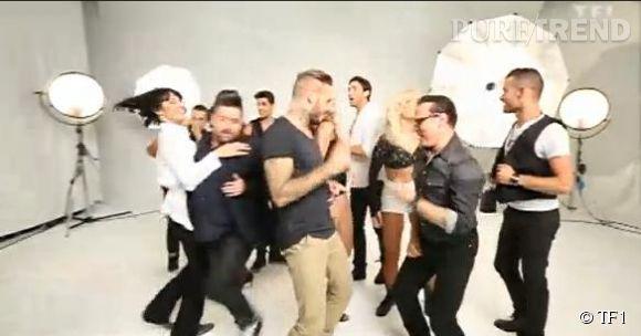 """L'équipe de """"Danse avec les Stars 5"""" très en forme pour la bande-annonce du programme."""