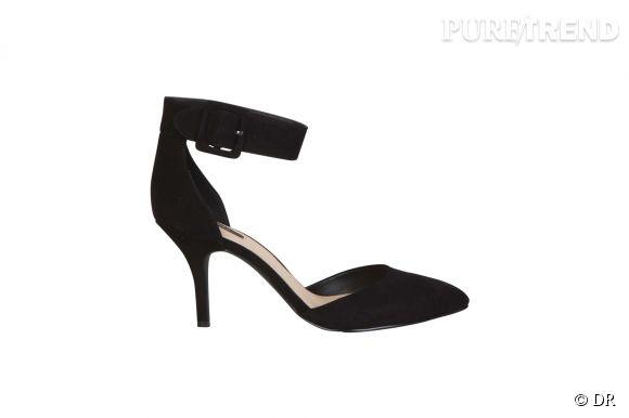 Pour parfaire un look de soirée ou ajouter une touche féminine et sexy à un basique combo jean-chemise blanche, ces chaussures à talons et brides sur la cheville sont les chaussures idéales.