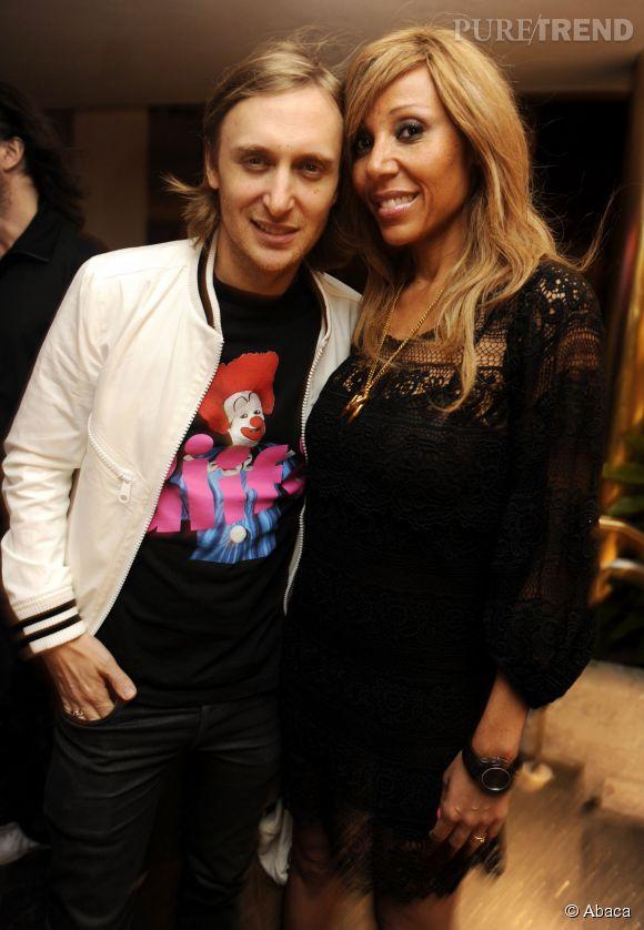 Cathy Guetta et David Hallyday David et Cathy Guetta