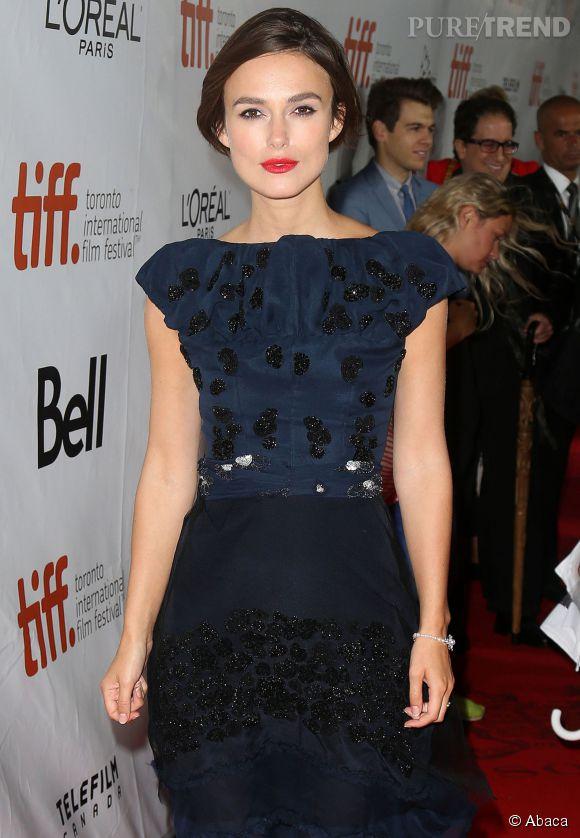 Keira Knightley est tellement belle qu'on lui a reproché d'être trop belle pour être bonne actrice.