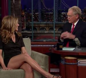 Une interview dont David Letterman se souviendra encore longtemps.