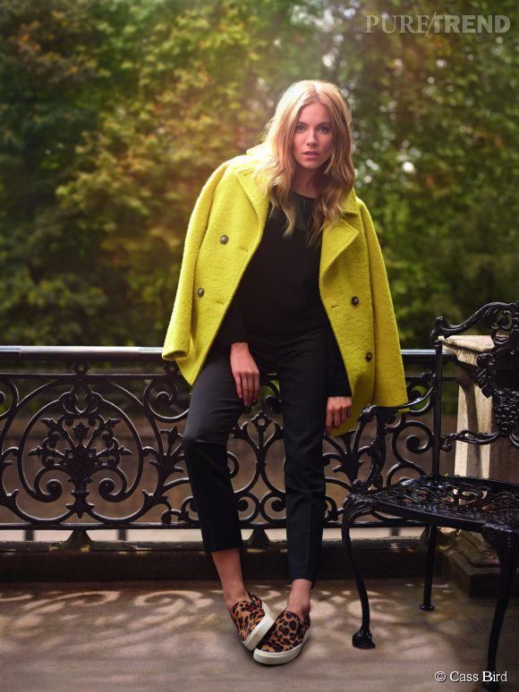 Sienna Miller, Londonienne stylée pour Caroll.