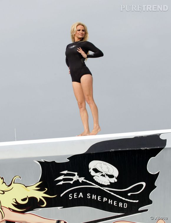 "Pamela Anderson, ""fille spirituelle"" de Brigitte Bardot."