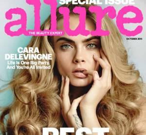 Cara Delevingne : nue et un faux air de Clara Morgane en couverture !