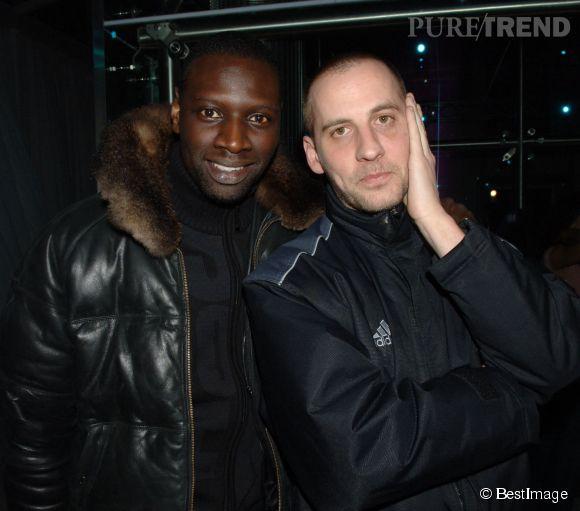 Omar Sy et Fred Testot en 2006, le duo se forme doucement... mais sûrement !