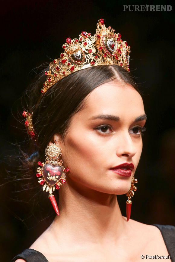 Défilé Dolce & Gabbana Printemps-Été 2015.