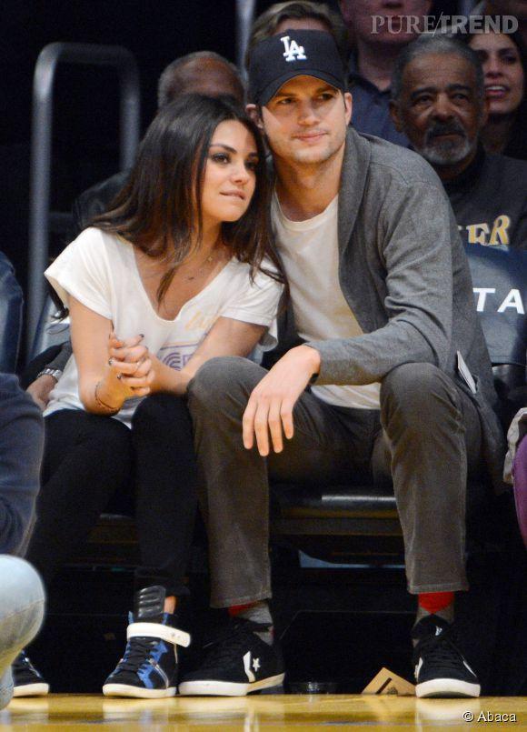 Mila Kunis et Ashton Kutcher, parents d'une petite fille.