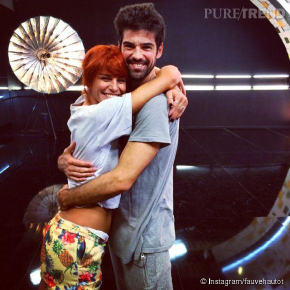 Fauve Hautot et Miguel Angel Munoz, le couple qui fait rêver.