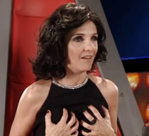 """L'émission """"The Voice"""" version Le Palmashow avec l'humoriste Florence Foresti."""