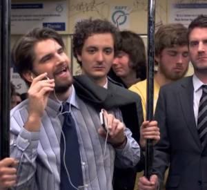 """""""Very Bad Blagues"""" dans le métro."""