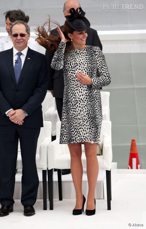 Kate Middleton enceinte : une duchesse à la pointe des tendances.