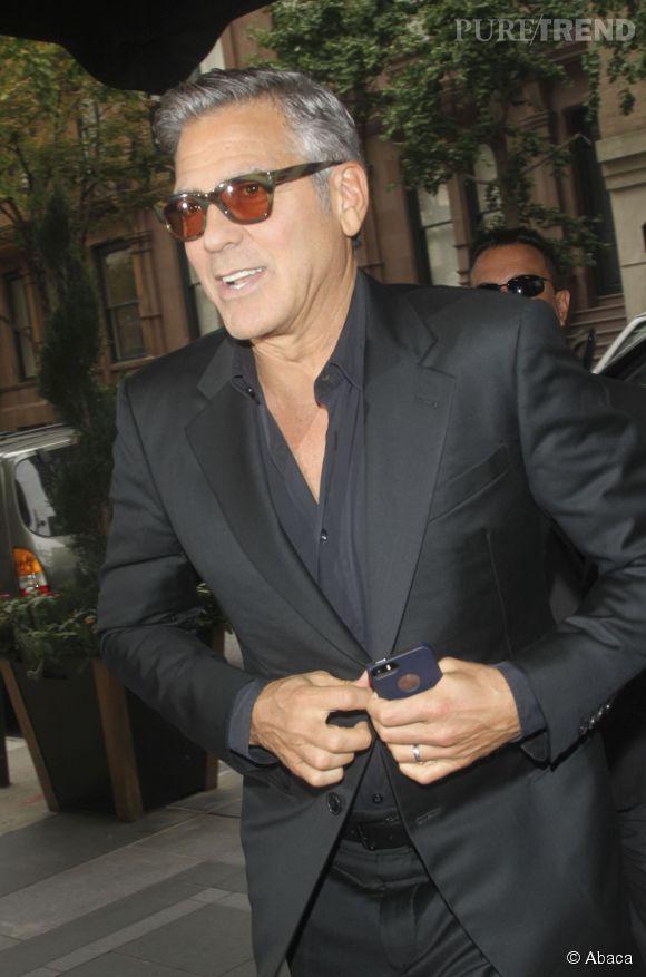 Pour les personnes interrogées de plus de 30 ans, cet homme idéal aurait les cheveux gris de George Clooney.