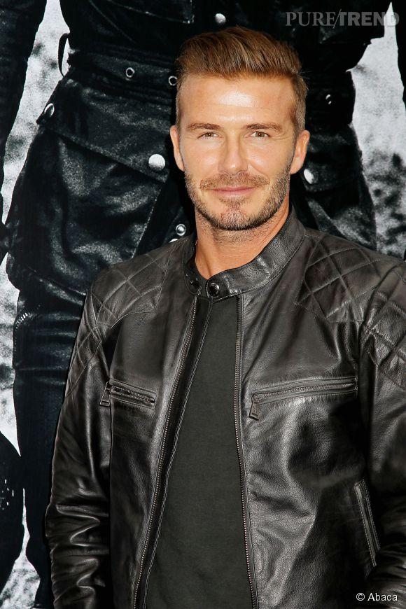 Cet homme idéal a la barbe de David Beckham, selon les personnes interrogées.