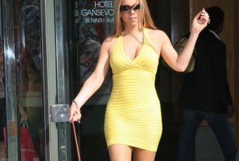 Mariah Carey, amincie en robe moulante : nouvelle vie pour la diva célibataire