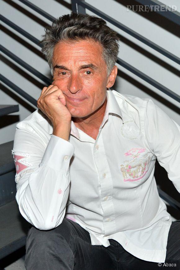 """Gérard Holtz nie l'anecdote qui relate une de ses infidélités, balancée par Isabelle Morini-Bosc sur le plateau de """"TPMP""""."""