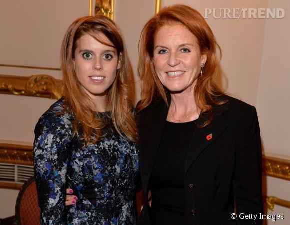 La duchsse d'York et sa fille, la princesse Béatrice, un duo plein de charme.
