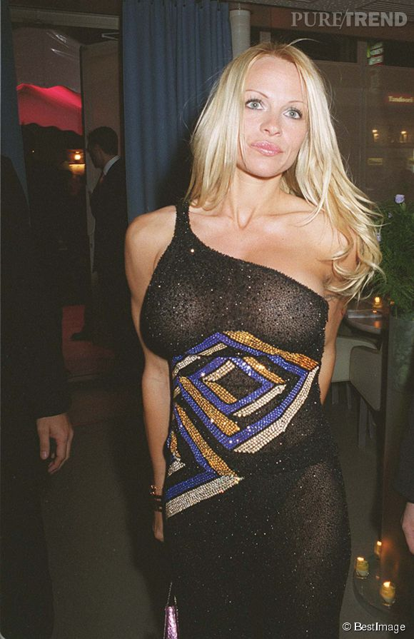 Pam anderson gros seins