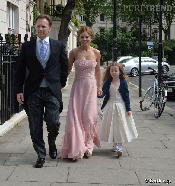 Geri Halliwell, son futur mari Christian Horner et sa fille Bluebell Madonna...