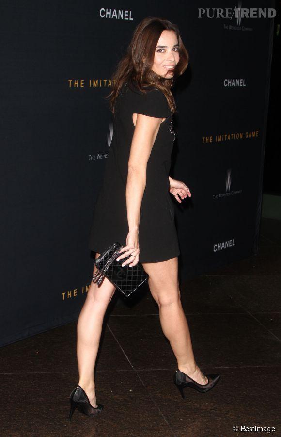 """Elodie Bouchez lors de la projection de """"The Imitation Game"""" le 10 novembre 2014 à Los Angeles."""
