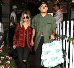 Ashlee Simpson, style trop cool au côté de son nouvel époux, Evan Ross, le fils de Diana Ross.