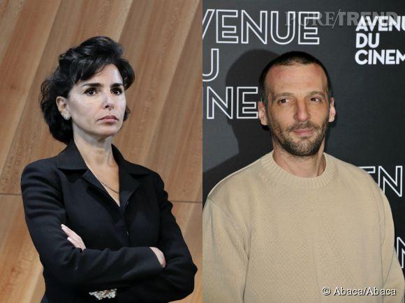 """Rachida Dati et Mathieu Kassovitz, ça ne passe pas entre les deux invités d'""""On n'est pas couché"""" ce 15 novembre 2014."""