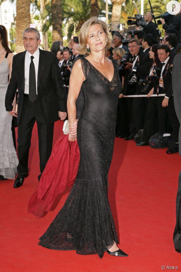 Claire Chazal au Festival de Cannes 2006.