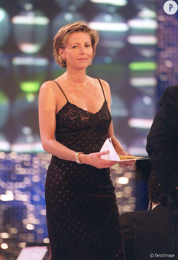 Claire Chazal lors de la treizième cérémonie des 7 d'or, en 1999.