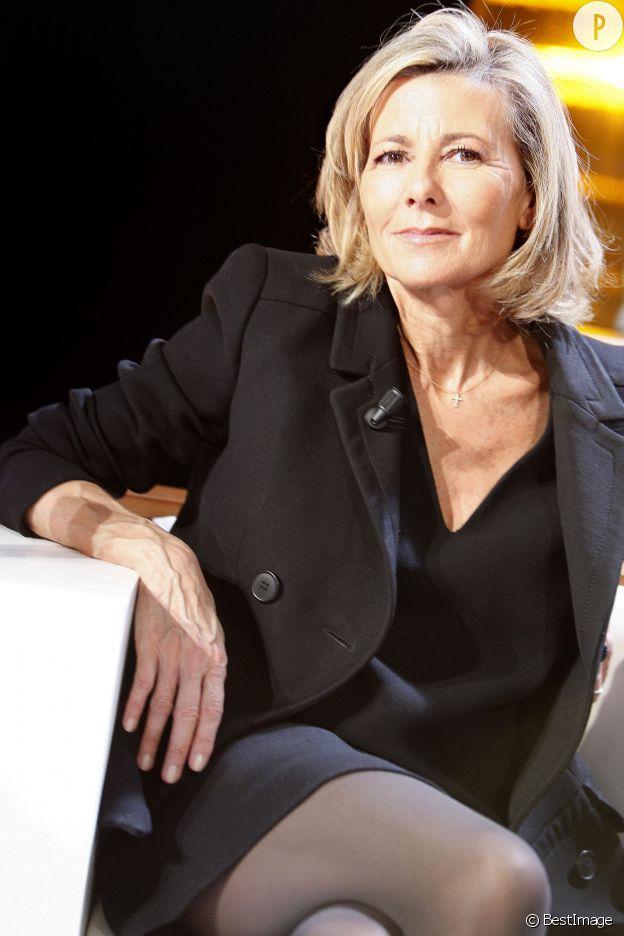 Claire Chazal, sexy à 58 ans.