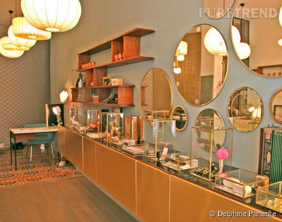 La nouvelle boutique de Delphine Pariente au 101, rue de Turenne dans le troisième arrondissement de Paris.