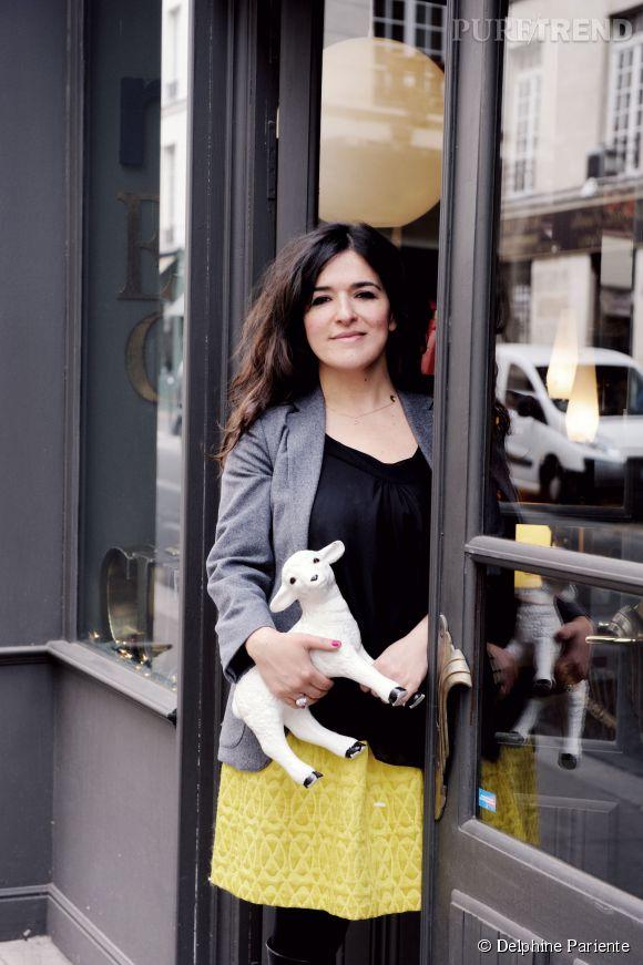 Delphine Pariente vient d'ouvrir sa troisième boutique parisienne.