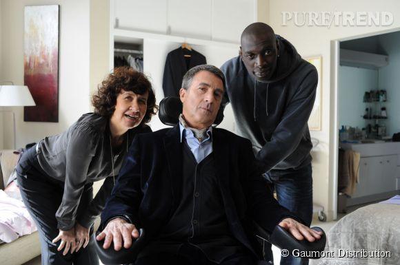 """François Cluzet et Omar Sy dans """"Intouchables""""."""