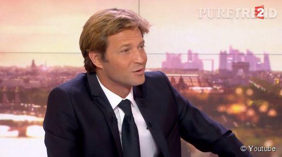 """Laurent Delahousse, le journaliste aux """"deux neurones"""" selon Nicolas Sarkozy."""