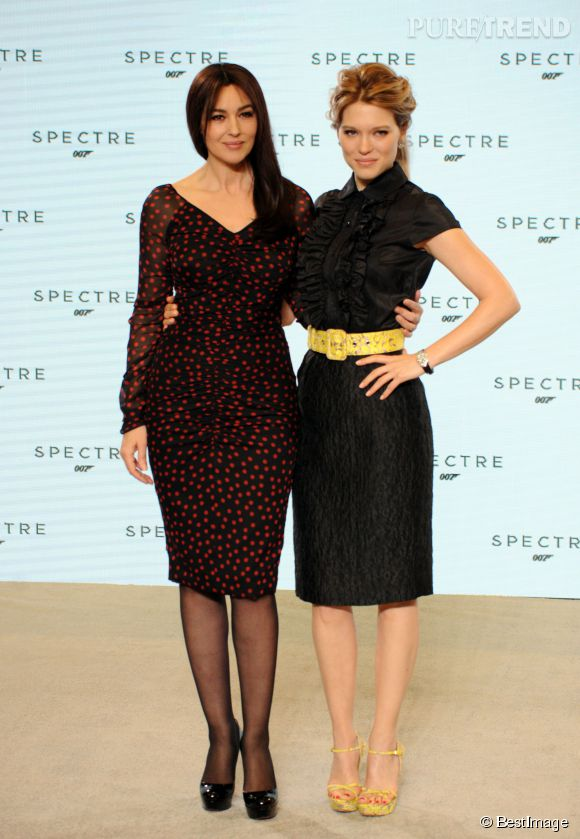 """Monica Bellucci et Léa Seydoux seront à l'affiche du prochain """"James Bond""""."""