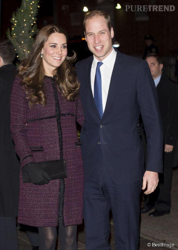 Kate Middleton et le prince William sont arrivés à New York dimanche 7 décembre 2014 pour une visite de trois jours.