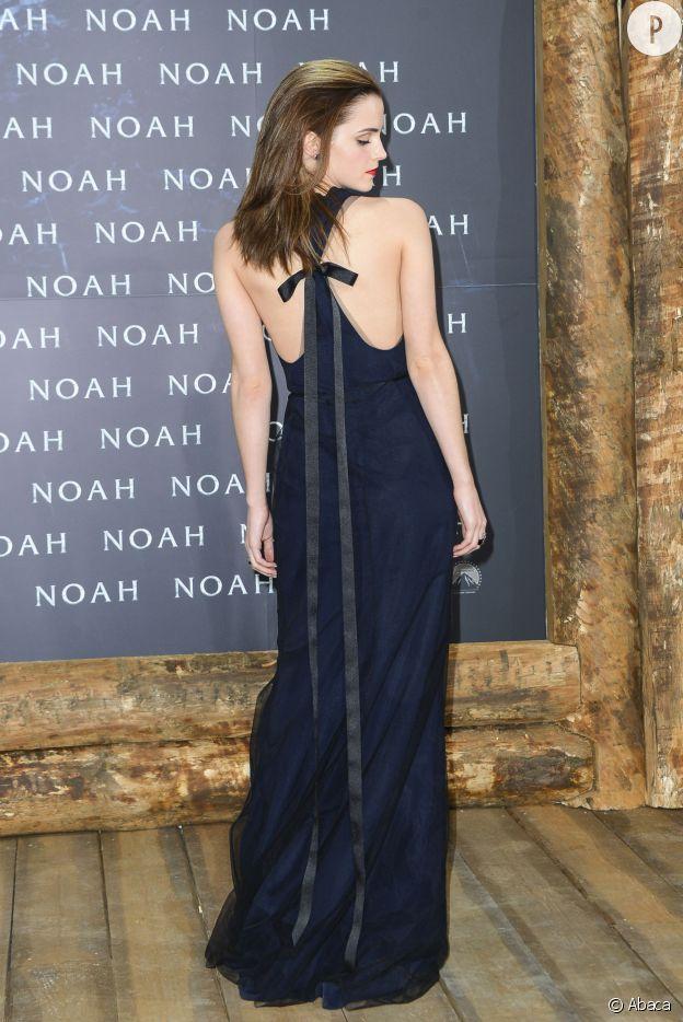 Emma Watson adore les dos nus. Du sexy en toute subtilité, à son image !