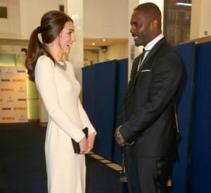 Idris Elba a déjà fait craquer Kate Middleton par son humour.