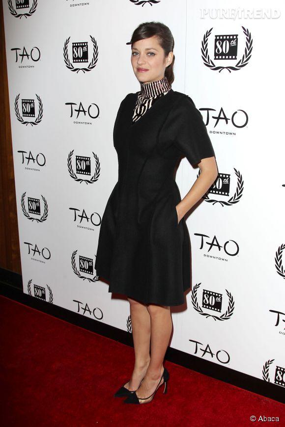 """Marion Cotillard a reçu le prix de la meilleure actrice pour les films """"The Immigrant"""" et """"Deux jours une nuit""""."""