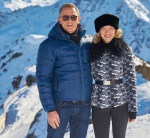 """Léa Seydoux : sexy et au ski aux côtés de Daniel Craig pour """"Spectre"""""""