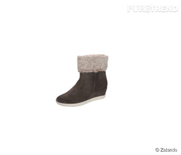 Stonefly sur Zalando.fr    Boots Jumping en cuir et fourrure synthétique, 110€.