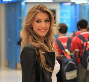 Camille Cerf : les premiers clichés à Miami de Miss France 2015