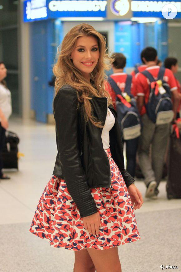 Camille Cerf, une miss France prête à décrocher la couronne de Miss Univers 2014.
