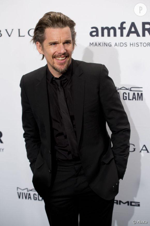 Ethan Hawke, l'une des quatre égéries de la nouvelle campagne Printemps-Été 2015 de Prada.