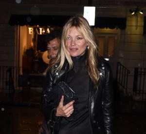 Kate Moss : superbe apparition pour le grand retour de John Galliano