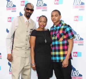 Snoop Dogg et sa femme, Shante Taylor, accueille ainsi leur petit fils, Zion Kalvin, le fils de Corde.