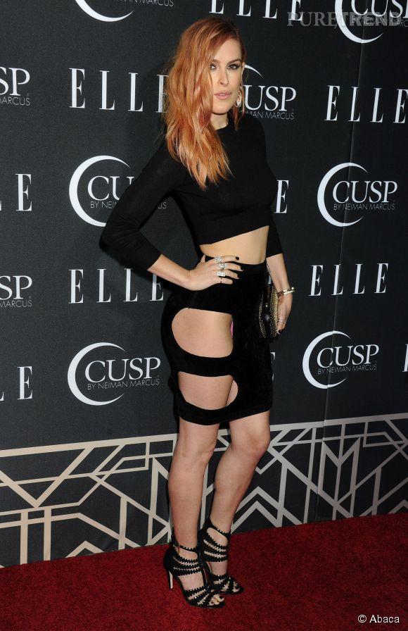 Rumer Willis, la fille de Bruce Willis se lâche et se dénude comme lors de cet évènement organisé par  ELLE .