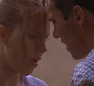 "Jonathan Rhys Meyers et Scarlett Johansson dans ""Match Point""."