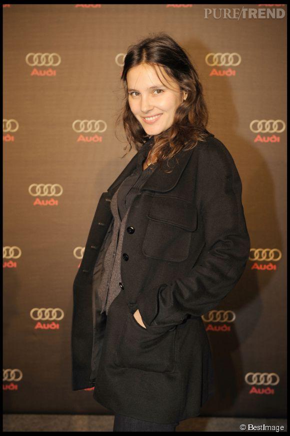 Virginie Ledoyen sans maquillage lors d'une soirée Audi Talents Awards en 2008.
