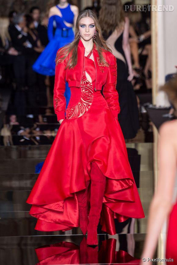 Défilé Haute Couture Atelier Versace Printemps-Eté 2015.