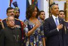 Michelle Obama : sa robe fait des ravages en Inde