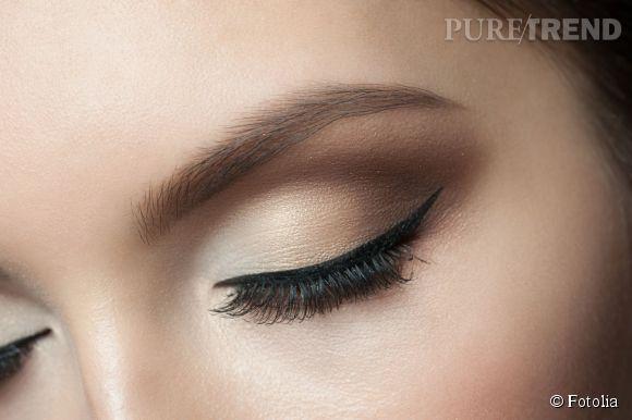 Maquillage eye liner - Comment faire un trait d eye liner ...